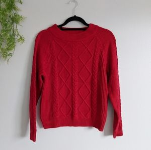 (peyton & parker) NWOT Red Sweater Small